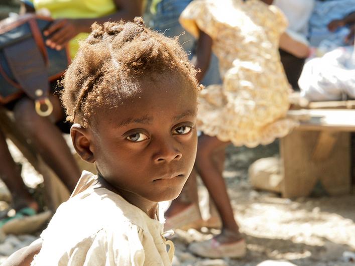 21. Haitian girl