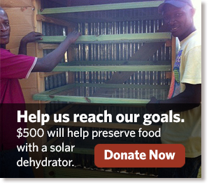 Appropriate technologies - Solar Dehydrator Donate Now