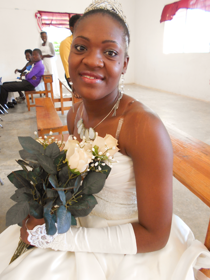 Roselyne-at-wedding