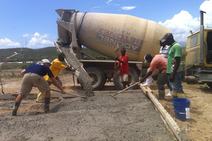 laying-concrete