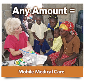 Donate to a mobile medical team in Haiti today.