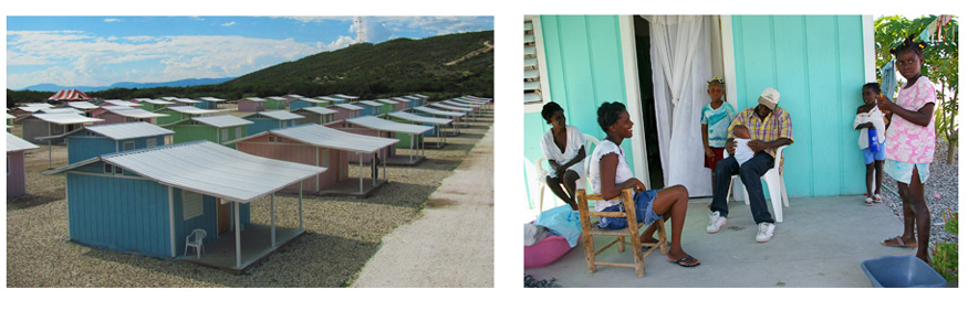 An expanded view of Miracle Village - our village of new homes built for Haitians following the 2010 Earthquake.