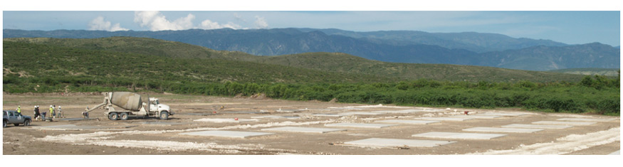 Future grounds of Miracle Village - A Village of New Homes in Fond Parisien, Haiti for 2010 Earthquake Victims
