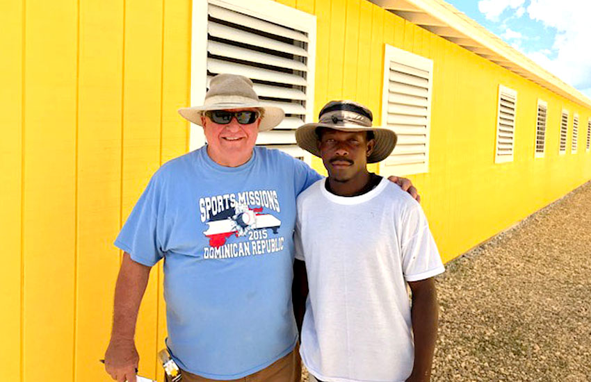 Mark has trained his Haitian construction crew over the years to become first-class builders.