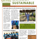 Love A Child Sustainability Newsletter Spring 2018