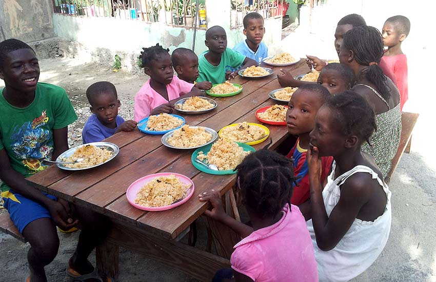There are over 750 orphanages and missions throughout Haiti.