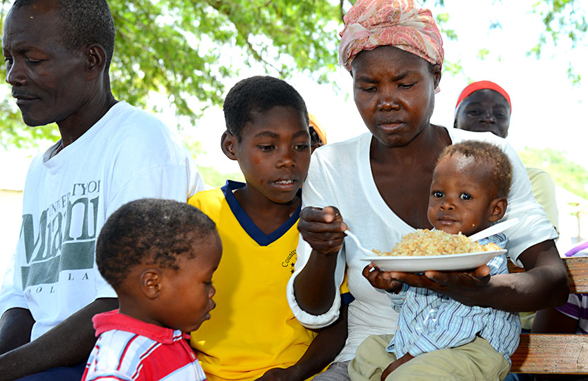 Haitian children are considered gifts from God.