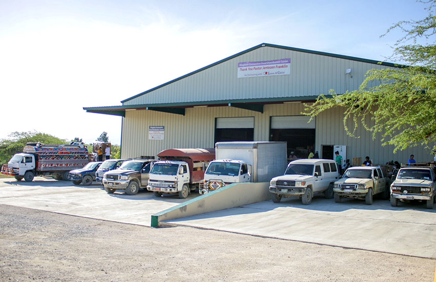 Kingdom Connection Food Distribution Warehouse