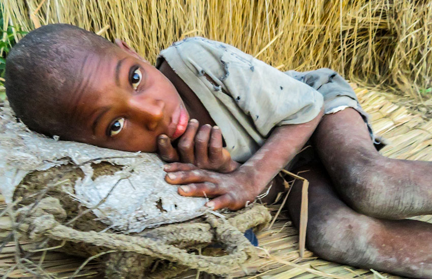 """The need to feed the """"poorest of the poor"""" in Haiti."""