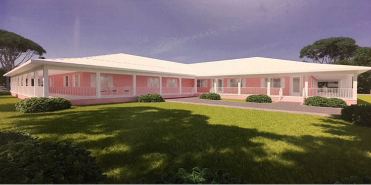 A new Women's Birthing and Learning Center.