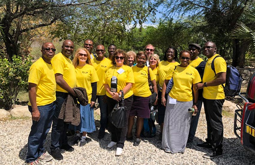 Thank you all for your wonderful spirit of volunteering, and the love for the Haitian people we serve.