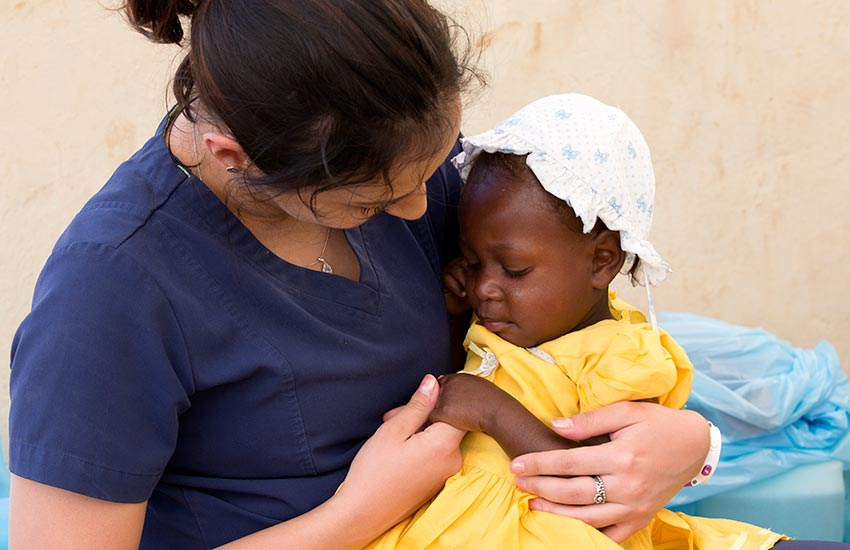 Bringing compassion, and the love of Christ to the people of Haiti.