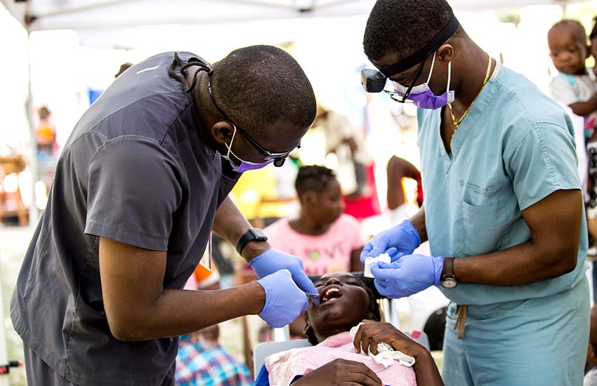 Our medical team was saving lives and winning people to the Lord!
