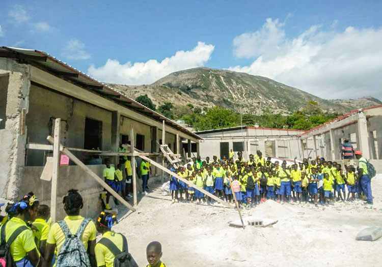 These children walk for MILES across high mountains and very steep terrain, just to come to school.
