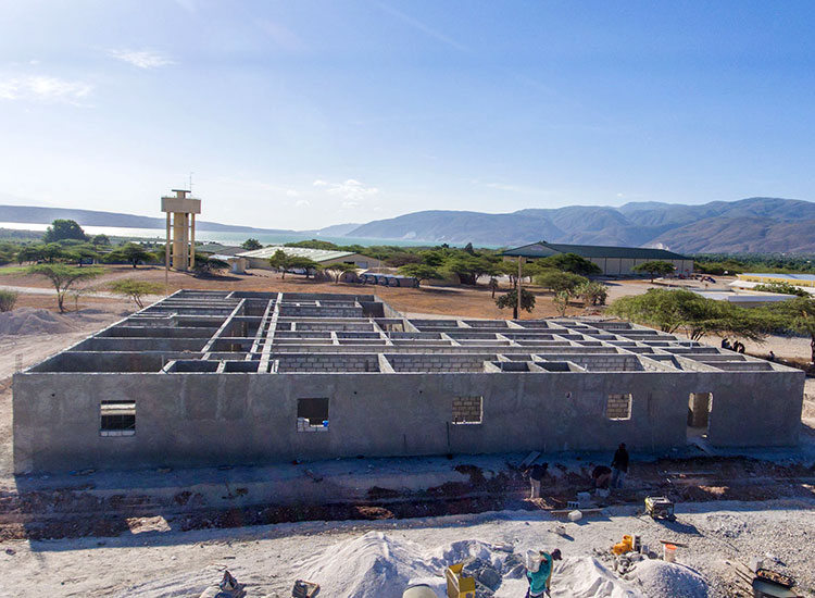 This center will also be a Women's Learning Center to teach Haitian women how to care for their babies.