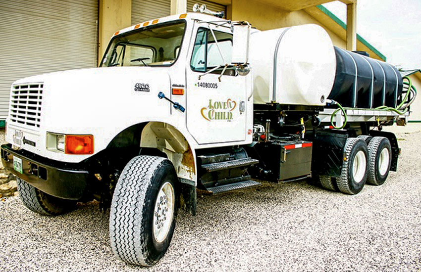 This water truck has been used in so many ways, and now during our drought here in Haiti.