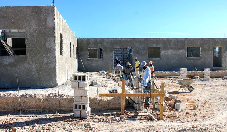 This building will be our new Women's Birthing and Learning Center.