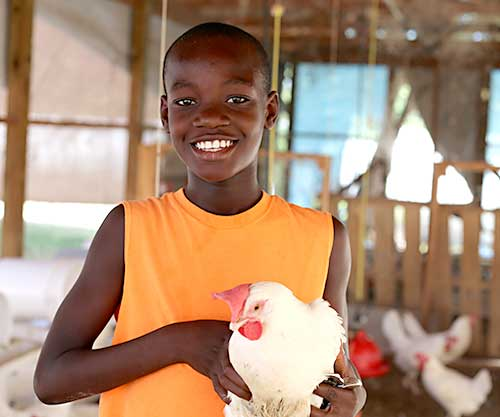 We thank you for your time and continued support to help us hatch happy kids at the Love A Child Chicken Farm!