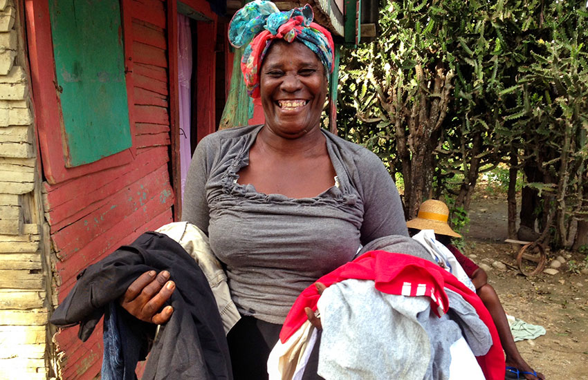 We created jobs for several mothers, and it has been a blessing to see them sell clothing and other products.