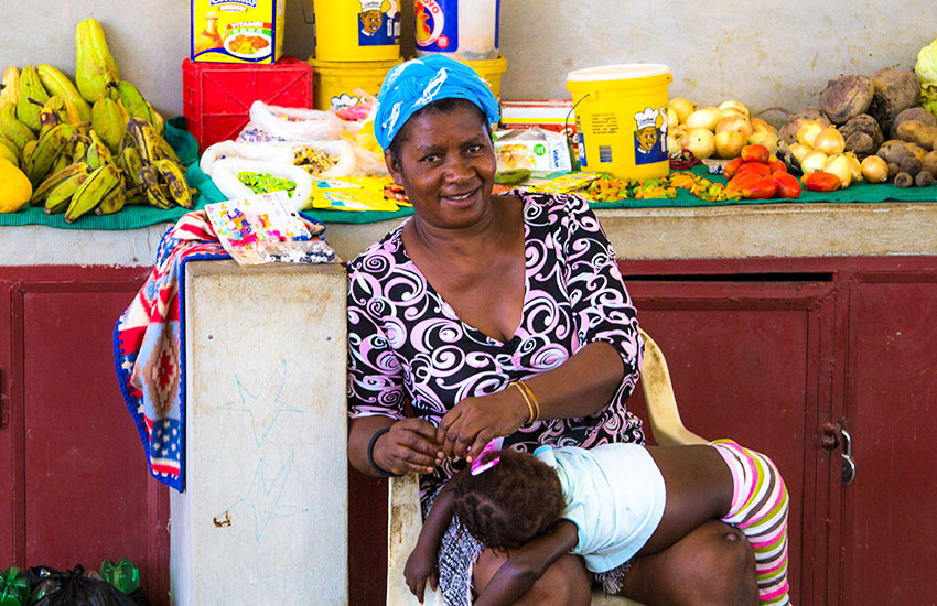 We are working on programs that will help these poor mothers have an income to support their families.
