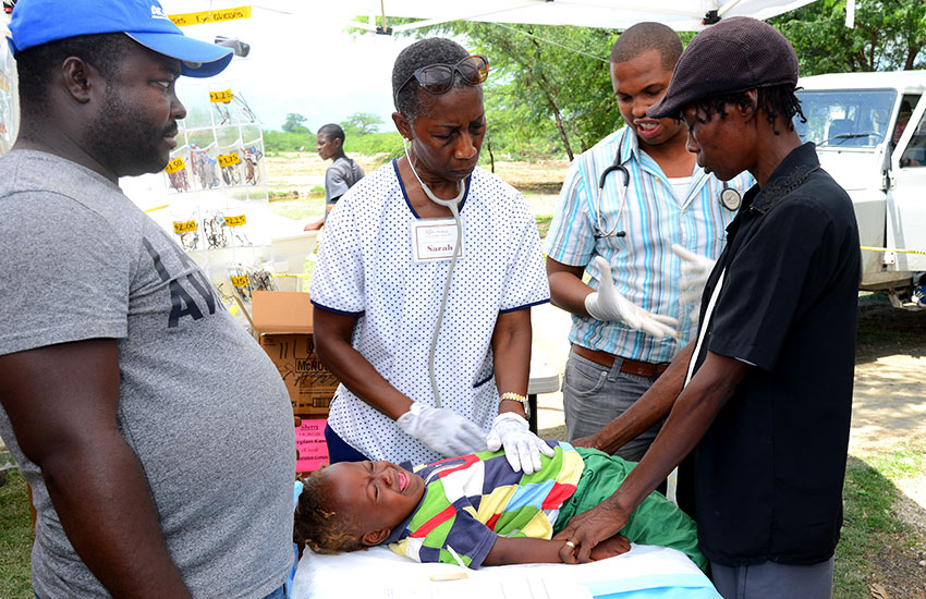 Our Volunteer Medical Team treated over a thousand people.