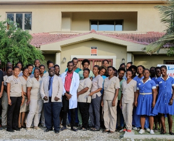 Jesus Healing Center Staff Fond Parisien Haiti