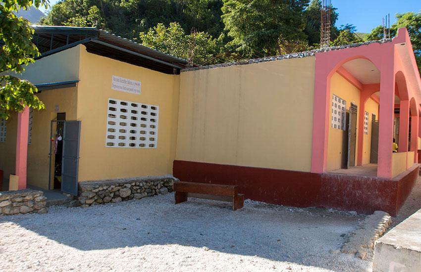 New classrooms for Lastik school.
