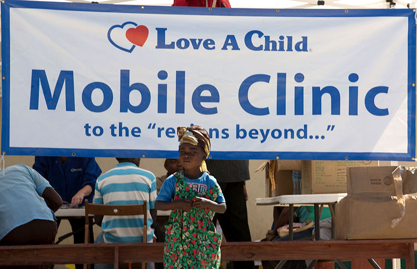 We headed to Peyi Pouri for four days to treat hundreds of children and families at our Mobile Medical Clinic.