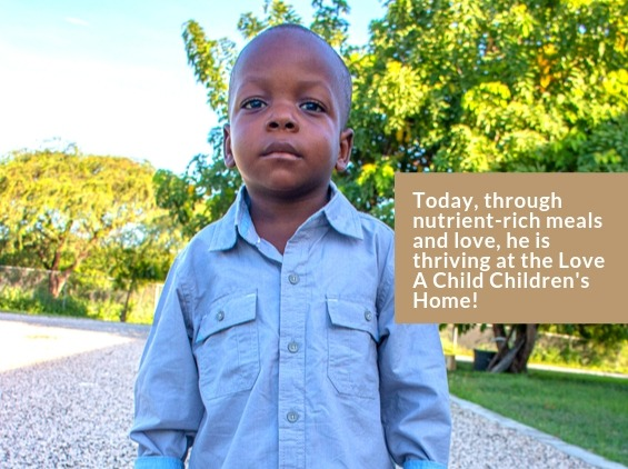 Kenzy - After Malnutrition Center Care - Thriving at Love A Child Children's Home in Haiti