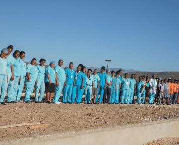 Jesus Healing Center Staff Fond Parisien, Haiti